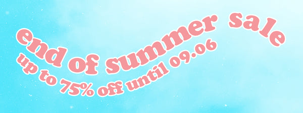 Be Mused Korea End of Summer Sale 2021