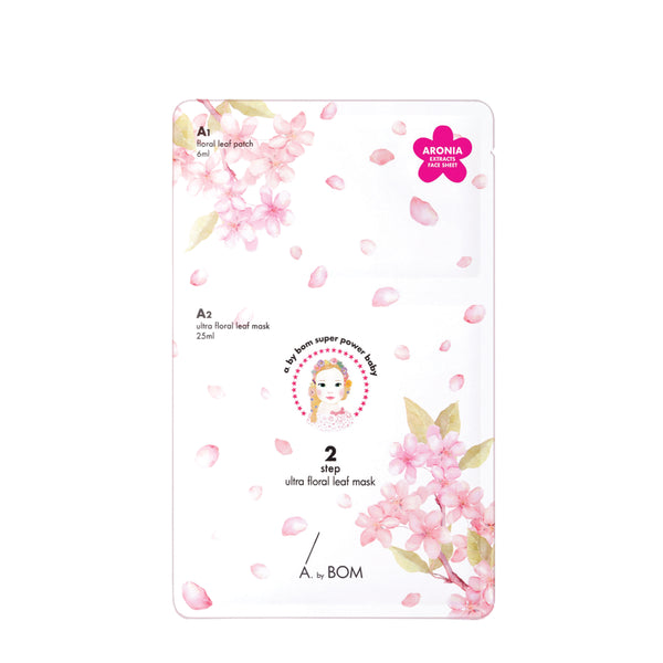A. by BOM (2 step) Ultra Floral Leaf Mask