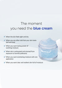 A by BOM Blue Cica Azulene Dew Soothing Hydration Cream