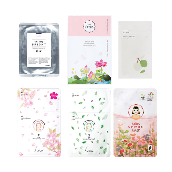 BMK Sheetmask Sampler Set