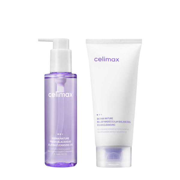 Celimax Derma Nature Double Cleansing Set