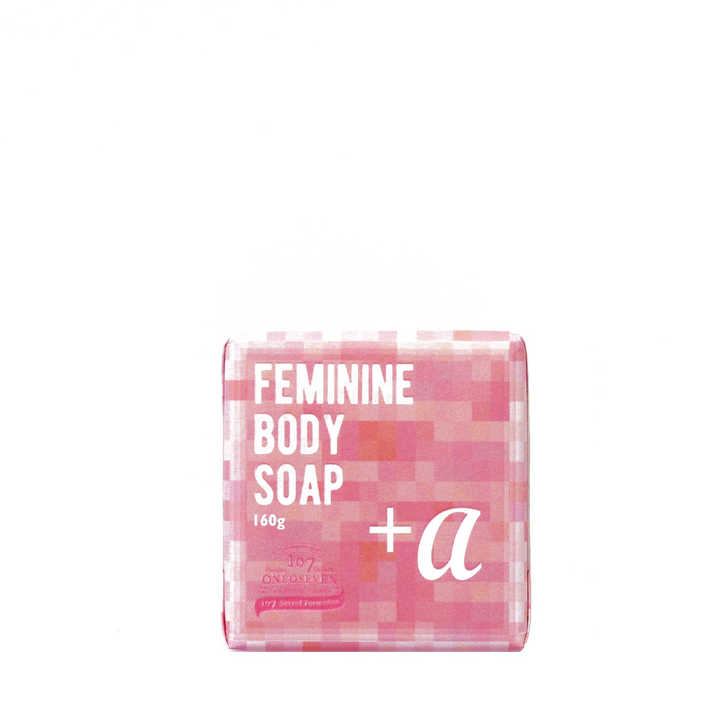 Oneoseven Feminine Body Soap + α