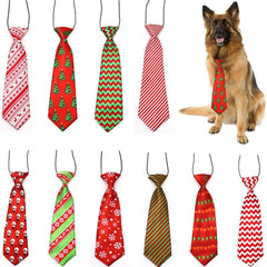 AnimaLove Pet Tie Adjustable Holiday Bow Tie