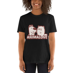 AnimaLove Short-Sleeve Unisex T-Shirt