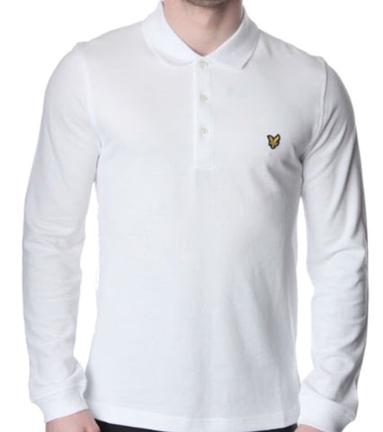 Lyle and Scott Men's Long Sleeve Polo - Toplen