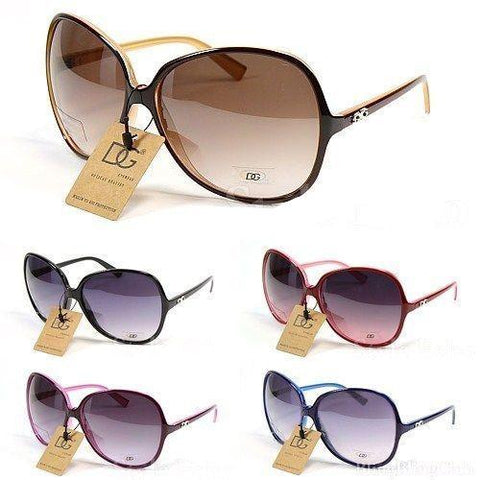 Womens Designer Shades DG Eyewear Cool Fashion Sunglasses - Toplen