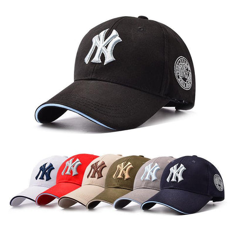 Men Women NY Snapback Baseball Caps Casual Adjustable Hat - Toplen