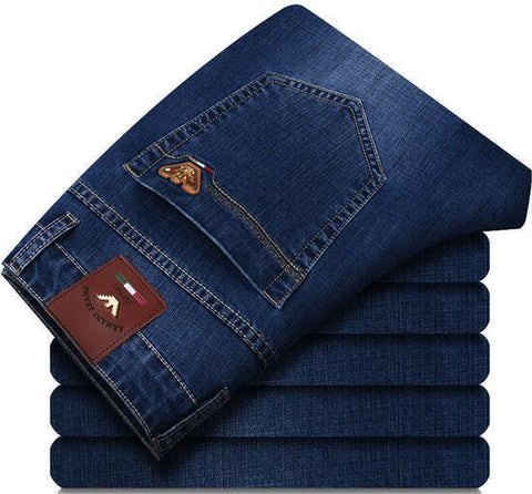 Armani Jeans Slim Fit Jeans In Blue - Toplen