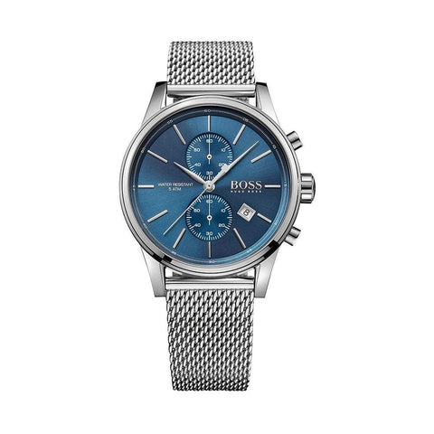 Hugo Boss Men's Jet Stainless Steel Strap Chronograph Watch - Toplen