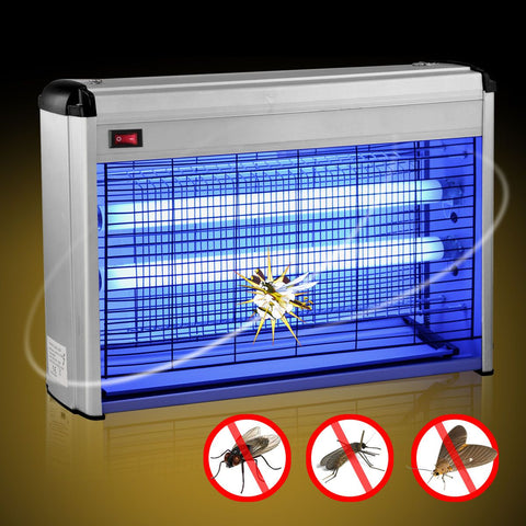Electric UV Mosquito Bug Zapper Fly Flying Insects Moth Killer Trap - Toplen
