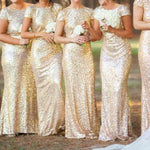 Long Formal Evening Prom Party Dress Bridesmaid Dresses - Toplen