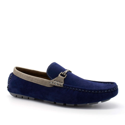 Mens Casual Loafers Smart Moccasins Faux Suede UK 6-11 - Toplen