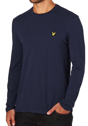 Lyle And Scott Men Long Sleeve Crew Neck T-shirt - Toplen