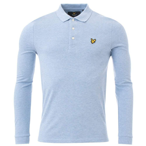 Lyle And Scott Long Sleeve Polo - Toplen