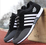 Mens Sneakers Canvas Sports Running Casual Shoes - Toplen