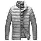 Mens Stand Collar Duck Down Jacket