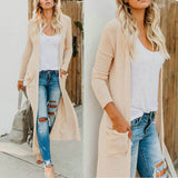 Womens Long Sleeve Cardigan