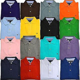 Tommy Hilfiger Golf Short Sleeve Plain Pique Mens Polo Shirt Top - Toplen