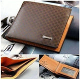 Luxury High Quality Wallet Mens Soft Leather Bifold ID Credit Card Holder - Toplen