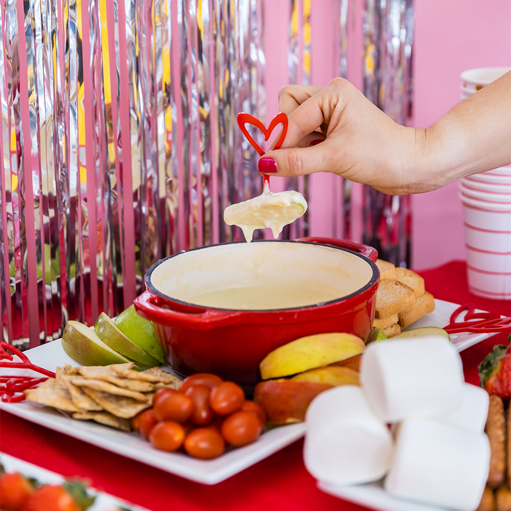 make it: fondue fun for valentine's day