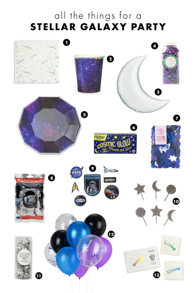 all the things: stellar galaxy party
