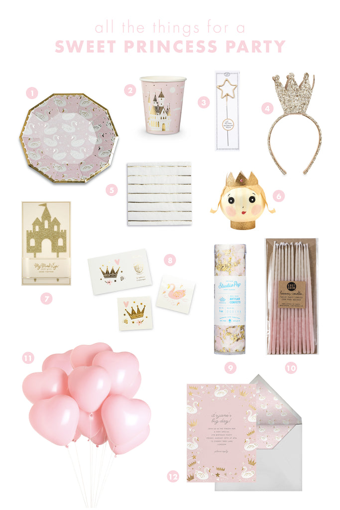 all the things: sweet princess party