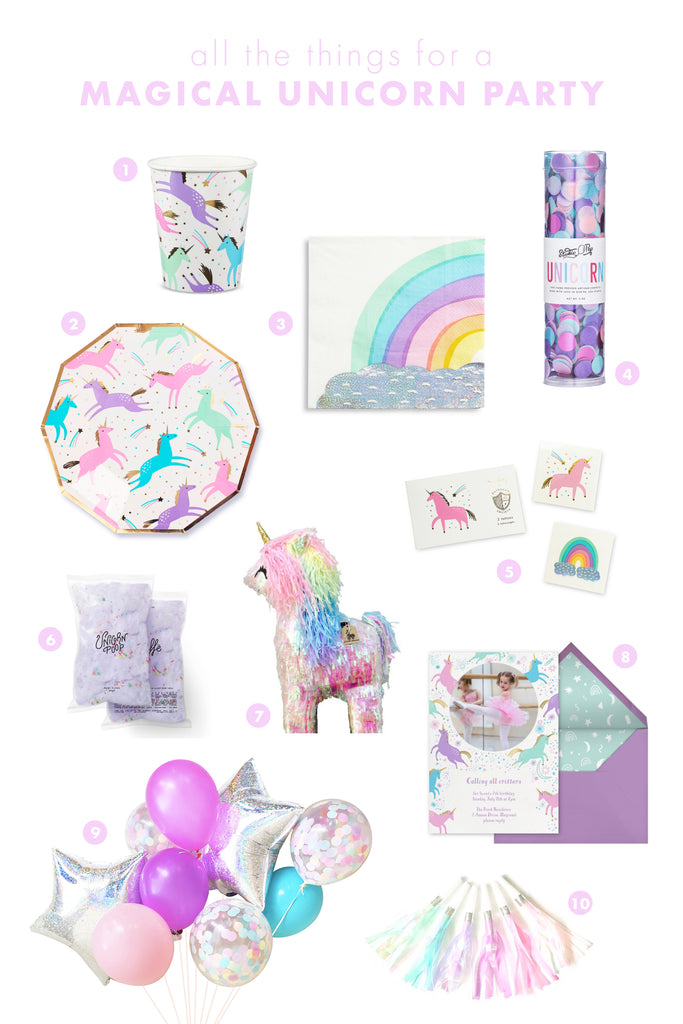 all the things: magical unicorn party
