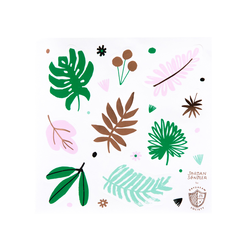 Tropical Sticker Set by Daydream Society