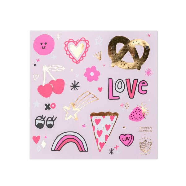 love notes sticker set