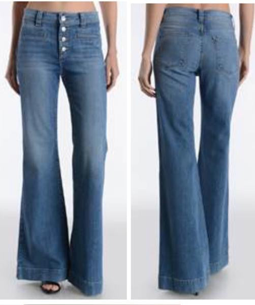 Gia Flares – High Waisted Jeans