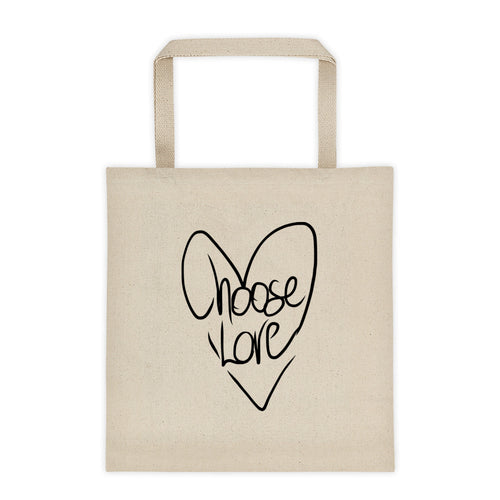 Choose Love Tote Bag