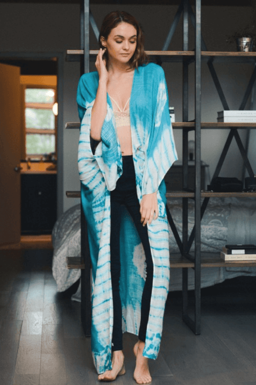 Tie Dye Duster Shawl | Kanan & Willow