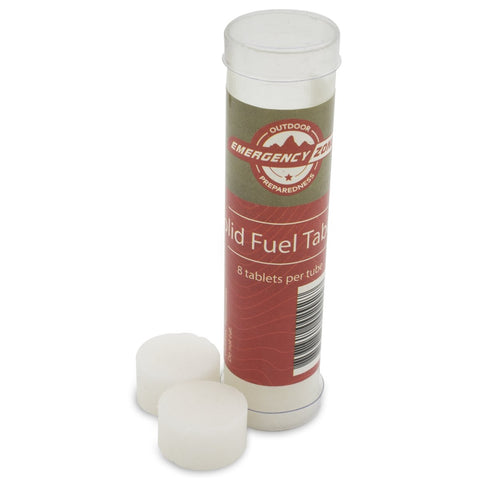 SOLID FUEL TABLETS (TUBE, 8 PCS)