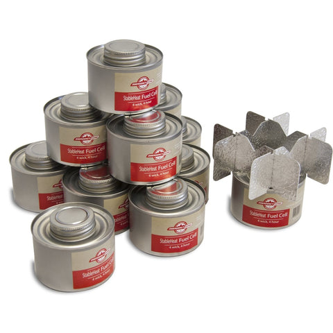 STABLEHEAT FUEL STORAGE SET - 15 DAY SUPPLY WITH STOVE