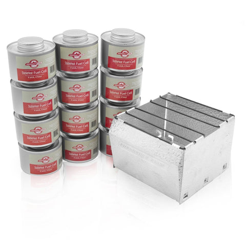 EMERGENCY FUEL STORAGE SET WITH STOVE - 48 HOURS