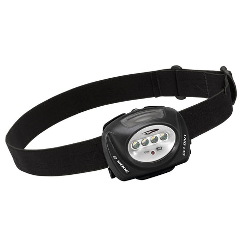 Princeton Tec QUAD II Intrinsically Safe LED Headlamp - Black [QUAD-II-BK]