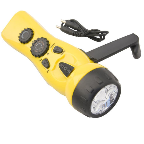 DYNAMO RADIO FLASHLIGHT - NO BATTERIES NEEDED