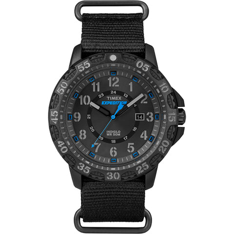 Timex Expedition Rugged Resin Slip-Thru Watch - Black-Black [TW4B035009J]