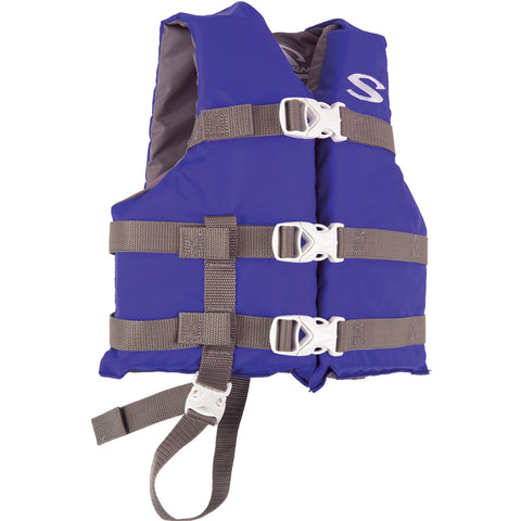 Stearns Classic Child Life Jacket - 30-50lbs - Blue/Grey [3000004471]