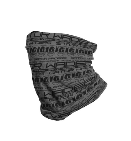 Gator Waders GW Face Shield - Charcoal / Black