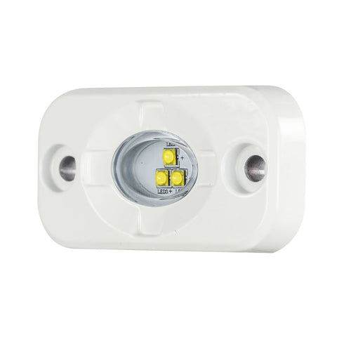 "HEISE Marine Auxiliary Accent Lighting Pod - 1.5"" x 3"" - White/White [HE-ML1]"
