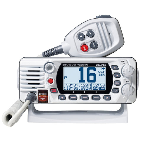 Standard Horizon GX1400G Fixed Mount VHF w/GPS - White [GX1400GW]