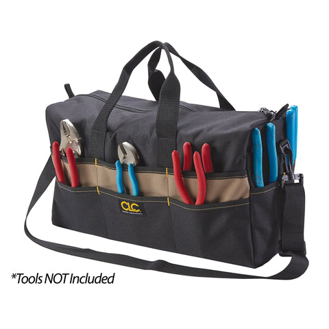 "CLC 18"" Large Tool Tote Bag - 17 Pocket [1113]"