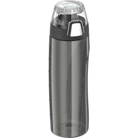 Thermos Hydration Bottle w/Rotating Intake Meter - BPA Free - 24oz - Smoke [HP4000SMTRI6]