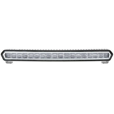 "RIGID Industries SR-L Series 20"" Off-Road LED Light Bar - Black w/White Halo [63000]"