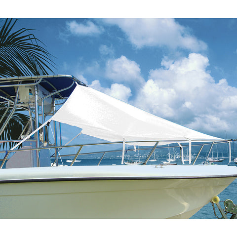 "Taylor Made T-Top Bow Shade 7L x 102""W - White [12005OW]"