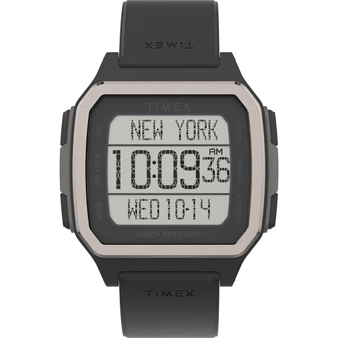 Timex Command Urban 47mm - Black Case w/Black Strap [TW5M29000JV]