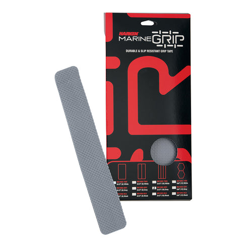 "Harken Marine Grip Tape - 2 x 12"" - Grey - 10 Pieces [MG1002-GRY]"
