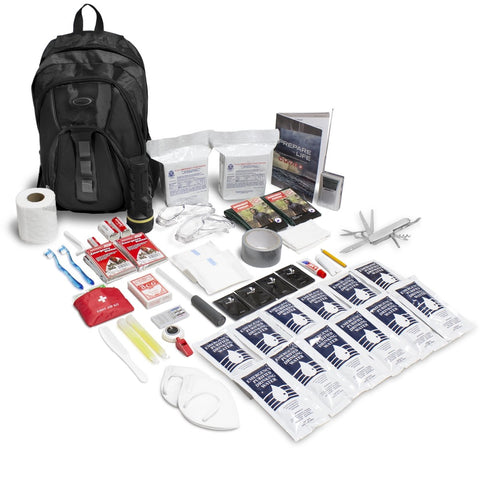 THE ESSENTIALS COMPLETE 72-HOUR KIT - 2 PERSON - choose your color