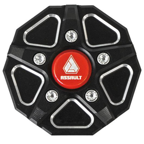 Assault Industries 3 Piece Aluminum Gas Cap (Fits: Polaris RZR & Slingshot)